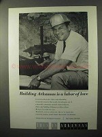 1964 Arkansas Industrial Development Ad - Labor of Love
