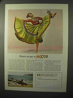 1964 Mexico Tourism Ad - Hearts Are Gay In Mexico
