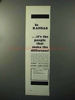 1964 Kansas Department of Economic Development Ad
