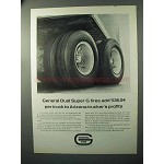 1964 General Dual Super G Tires Ad - Trucker's Profits