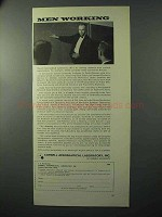 1964 Cornell Aeronautical Laboratory Ad - Men Working