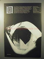 1964 MIT Lincoln Laboratory Ad - Crystal Surface