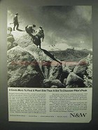 1964 Norfolk and Western Railway Ad - Pike's Peak
