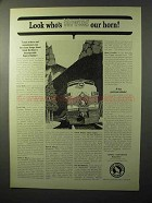 1964 Great Northern Railway Ad - Blowing Our Horn