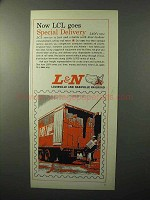 1964 Louisville and Nashville Railroad Ad - Delivery