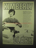 1964 Kimberly-Clark Form-Fitting Business Papers Ad