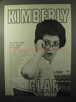 1964 Kimberly-Clark Business Papers Ad - For Whom?