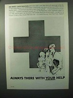 1964 Red Cross Ad - Always There With Your Help