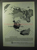 1964 Rand McNally International Bankers Directory Ad