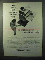 1964 Bruning 2000 Copier Ad - Half Our Sales Hard Way
