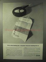 1964 Xerox Corporation Ad - Looking For a Scientist