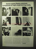 1964 Xerox Microfilm 1824 Printer Ad - Common Symptoms