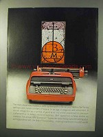 1964 IBM Executive Typewriter Ad - Bernardino Benali
