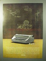 1964 IBM Selectric Typewriter Ad