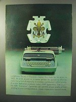 1964 IBM Executive Typewriter Ad - Lucantonio Giunta