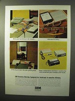 1964 IBM Executary Dictation Equipment Ad - When Away