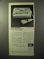 1964 Edison Voicewriter Ad - Envoy, Clear-Headed Friend