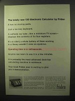 1964 Friden 130 Electronic Calculator Ad