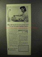 1964 Pitney-Bowes DM Desk Top Postage Meter Ad - ABC Pool
