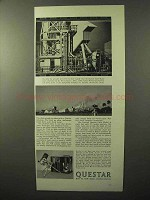 1964 Questar Field Model Telescope Ad - Sprocket Holes