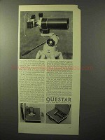 1964 Questar Field Model Telescope Ad