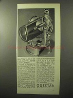 1964 Questar Telescope Ad - Modern 20th Century