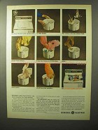 1964 General Electric Model No. WA-1250Y Washer Ad
