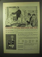 1964 Holiday Inn Ad - Weekend Sales Meetings are Fun