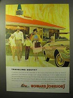 1964 Howard Johnson's Restaurants Ad - Traveling South?