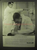 1964 A.H. Robins Pharmaceutical Ad - Turn About