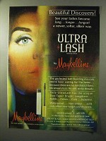 1964 Maybelline Ultra Lash Mascara Ad - Discovery