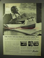 1964 Norelco Speedshaver 30 Ad - Rotary Blades Comfort