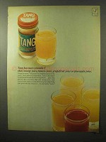 1964 Tang Drink Ad - More Vitamin C Than Orange Juice