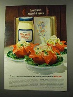 1964 Kraft Miracle Whip Ad - Flavor Bouquet of Spices