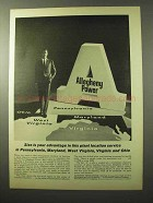 1964 Allegheny Power Ad - Size Is Your Advantage