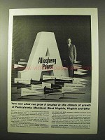 1964 Allegheny Power Ad - Climate of Growth