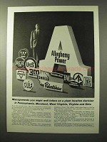 1964 Allegheny Power Ad - Managements You Follow
