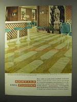 1964 Kentile Architectural Marbles Asbestos Tile Ad