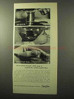1964 Bausch & Lomb DynaZoom Microscopes Ad - Quick