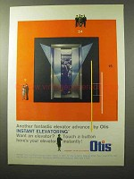 1964 Otis Elevator Ad - Another Fantastic Advance