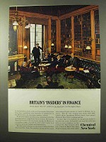 1964 Chemical New York Ad - Britain's Insiders Finance