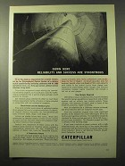 1964 Caterpillar Diesel Electric Sets for Missiles Ad