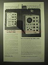 1964 Tektronix Type 545A and Type 545B Oscilloscopes Ad