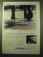 1964 Corning CENTURA Tableware Ad - Scientific Tests