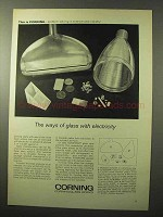 1964 Corning Fotoform Glass Ad - Ways With Electricity