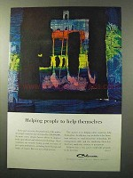 1964 Celanese Chemicals Ad - Helping People
