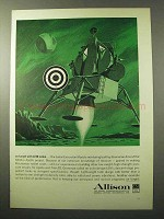 1964 Allison LEM Lunar Excursion Module Tanks Ad