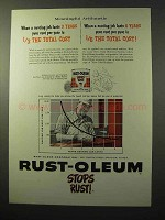 1964 Rust-Oleum Paint Ad - Meaningful Arithmetic