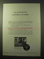 1964 Warner & Swasey Field Engineers Ad - Budget