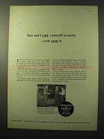1964 Warner & Swasey Field Engineers Ad - Security